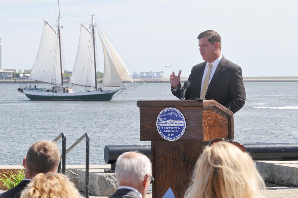 Boston Mayor Martin J. Walsh
