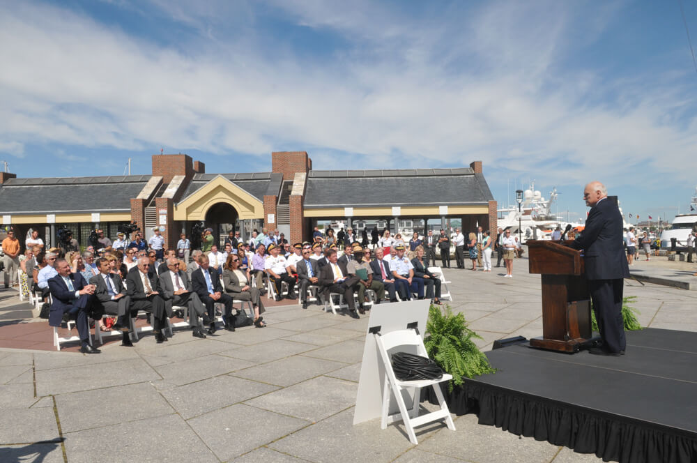 Patrick B. Moscaritolo, President & CEO of the Greater Boston Convention & Visitors Bureau