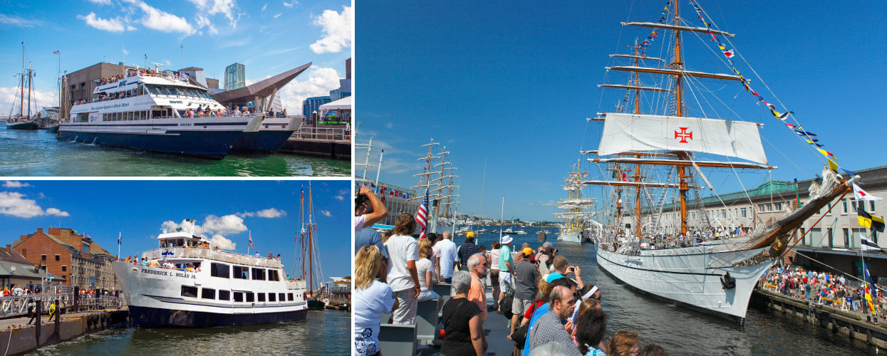 Tours Attractions Sail Boston - Cruises out of boston